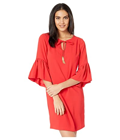 Trina Turk Baroque Dress (Lacquer Red) Women