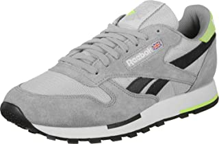 a1baf776f80b Reebok Classic Leather MU Chaussures Grey/Cool Shadow