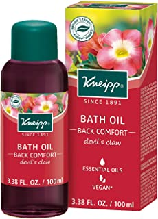 Kneipp Devil's Claw Herbal Bath Oil for Back Comfort, 3.38 Fl Oz