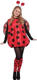 women's ladybug halloween costume