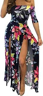 Robert Reyna Pretty Womens Blending Chiffon Retro Long Maxi Skirt Vintage Dress