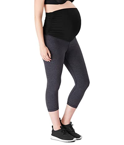 Belly Bandit Essential Maternity Capri Leggings (Charcoal) Women