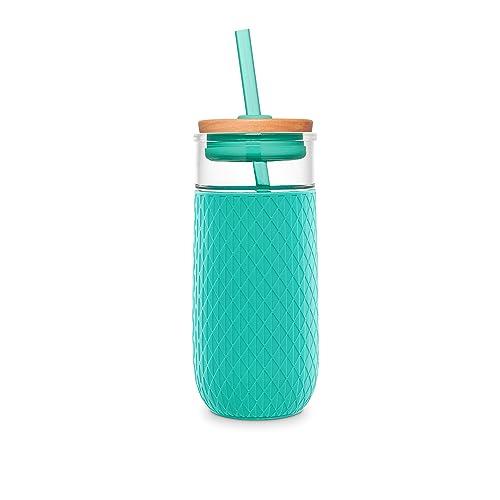 Ello Devon Glass Tumbler with Silicone Sleeve