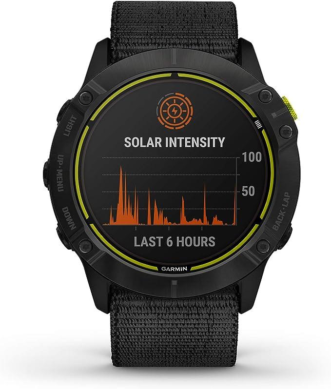 Garmin Enduro Smartwatch in plain black color