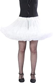 Alyse Short Sexy Tutu Style Petticoat - Thick Enough to Wear Alone, Good for Skater Skirt