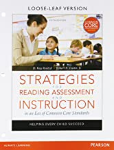 Strategies for Reading Assessment and Instruction in an Era of Common Core Standards: Helping Every Child Succeed, Pearson eText -- Access Card (5th Edition)