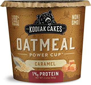 Kodiak Cakes Instant Protein Caramel Oatmeal in a Cup, 2.12 Ounce (Pack of 12)