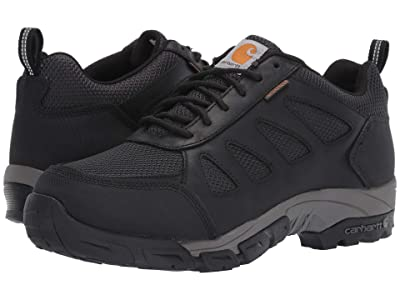 Carhartt Lightweight Low Waterproof Work Hiker Non-Safety (Black Leather) Men