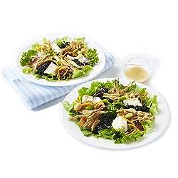 [冷蔵] ミールキット RF1 島豆腐とひじきのふたりサラダ 豆乳クリーム入り胡麻マヨソース付き 2人前