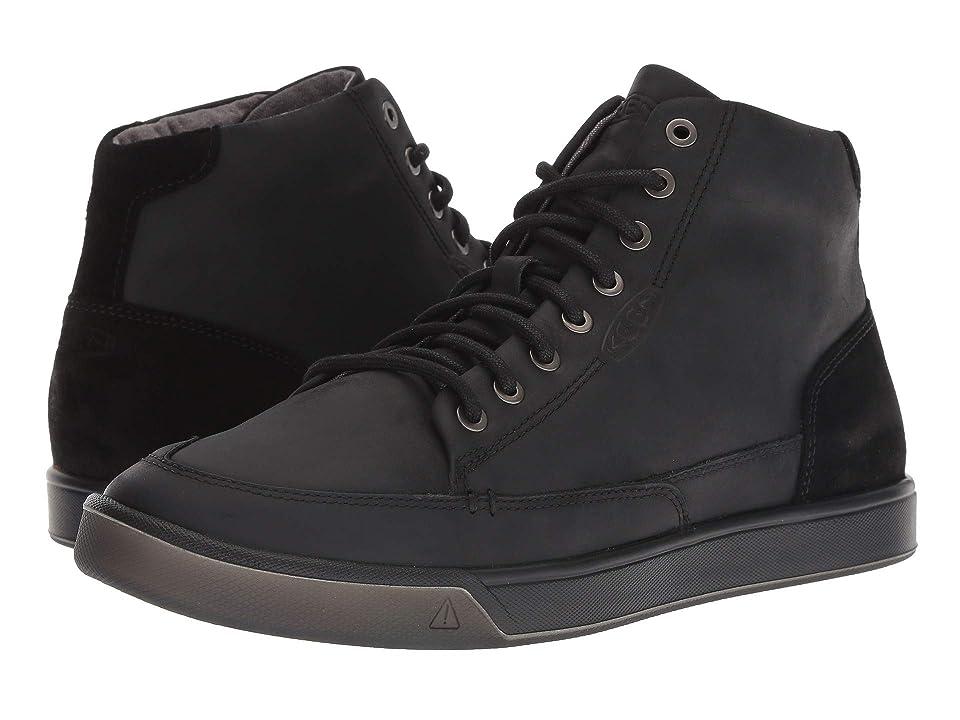 Keen Glenhaven Sneaker Mid (Black/Magnet) Men