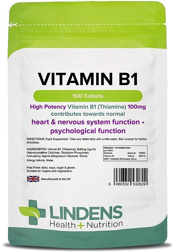水分余分な余分なビタミンB-1(チアミン)100錠1日に1(B1)