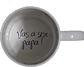 Vas a ser papa, You're Going to be a Dad Coffee Mug, Pregnancy Announcement, pregnancy reveal, Bottom, hidden message, secret message, Coffe cup