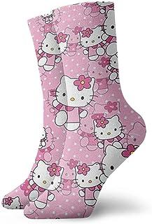 Calcetines de deporte para Navidad, diseño de Hello Kitty