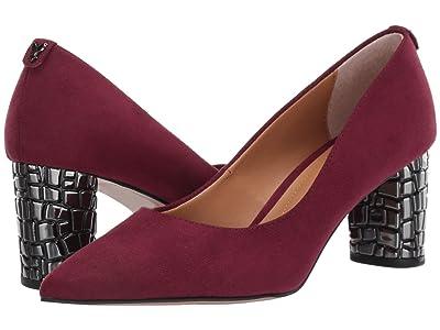 J. Renee Vaneeta (Burgundy Suede) High Heels