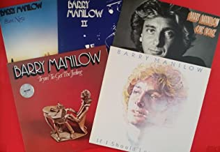 BARRY MANILOW Even Now, II, One Voice, Tryin' & If I Should LP Vinyl VG++ 5 Lot