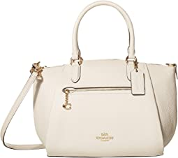 코치 사첼백 COACH Elise,Chalk/Gold