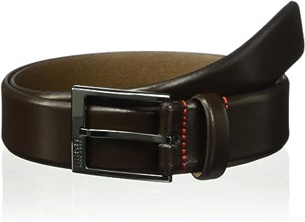 78093abd5f76 Amazon.ae: hugo boss brown leather belt for men