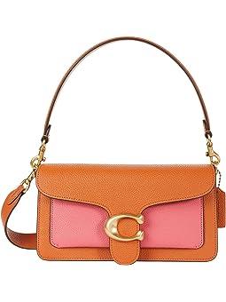 코치 숄더백 COACH Color-Block Tabby Shoulder Bag 26,Watermelon Multi