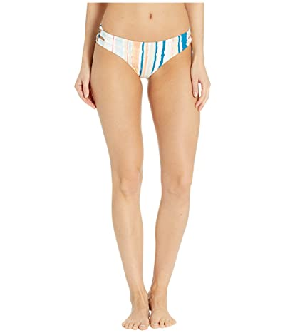 Roxy Print Beach Classics Strappy Full Bottoms (Bright White River) Women