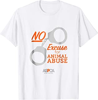 ASPCA No Excuse for Animal Abuse T-Shirt Light
