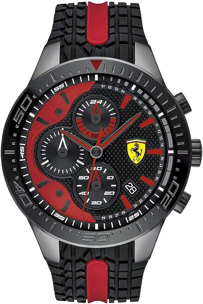 scuderia ferrari orologio cronografo uomo 830592