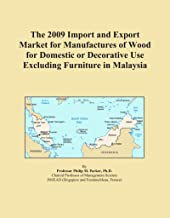 The 2009 Import and Export Market for Manufactures of Wood for Domestic or Decorative Use Excluding Furniture in Malaysia