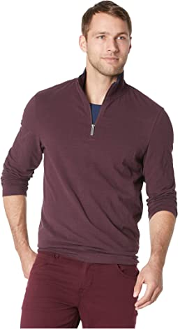 Cotton Stretch 1/2 Zip