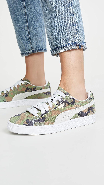 Amazon.com   PUMA Women's Suede Classic Ambush Sneakers   Shoes
