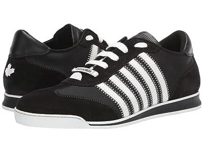 DSQUARED2 New Runner Sneaker (Black/White) Men