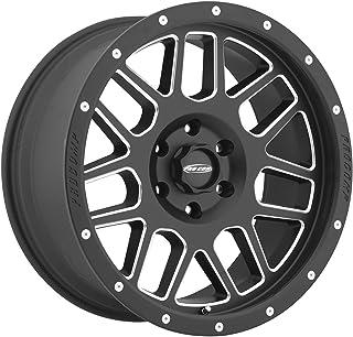 "Pro Comp Alloys Series 40 Vertigo Satin Black Wheel with Milled Accents (17x9""/6x5.5"")"