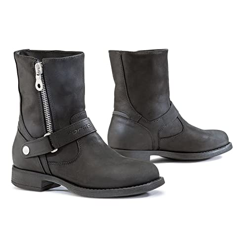 Womens Motorcycle Boots Amazon Co Uk