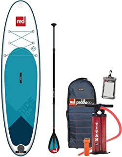 Red Paddle Co 2019 10'6 Ride Inflatable SUP with Carbon 50 Nylon 3 Part Paddle