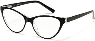 Vintage Inspired Elegant Women Pointy Reading Glasses With Flex Hinge