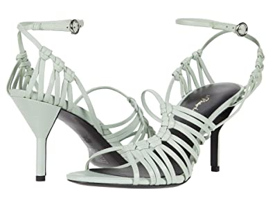 3.1 Phillip Lim Lily 75mm Strappy Sandal (Pale Green) Women