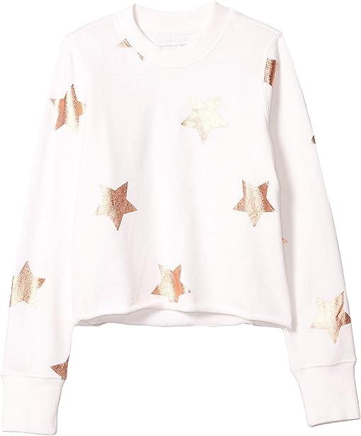 Rose Gold Star Print
