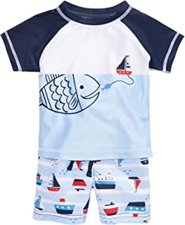 First Impressions Baby Boys Varsity-Print Cotton T-Shirt