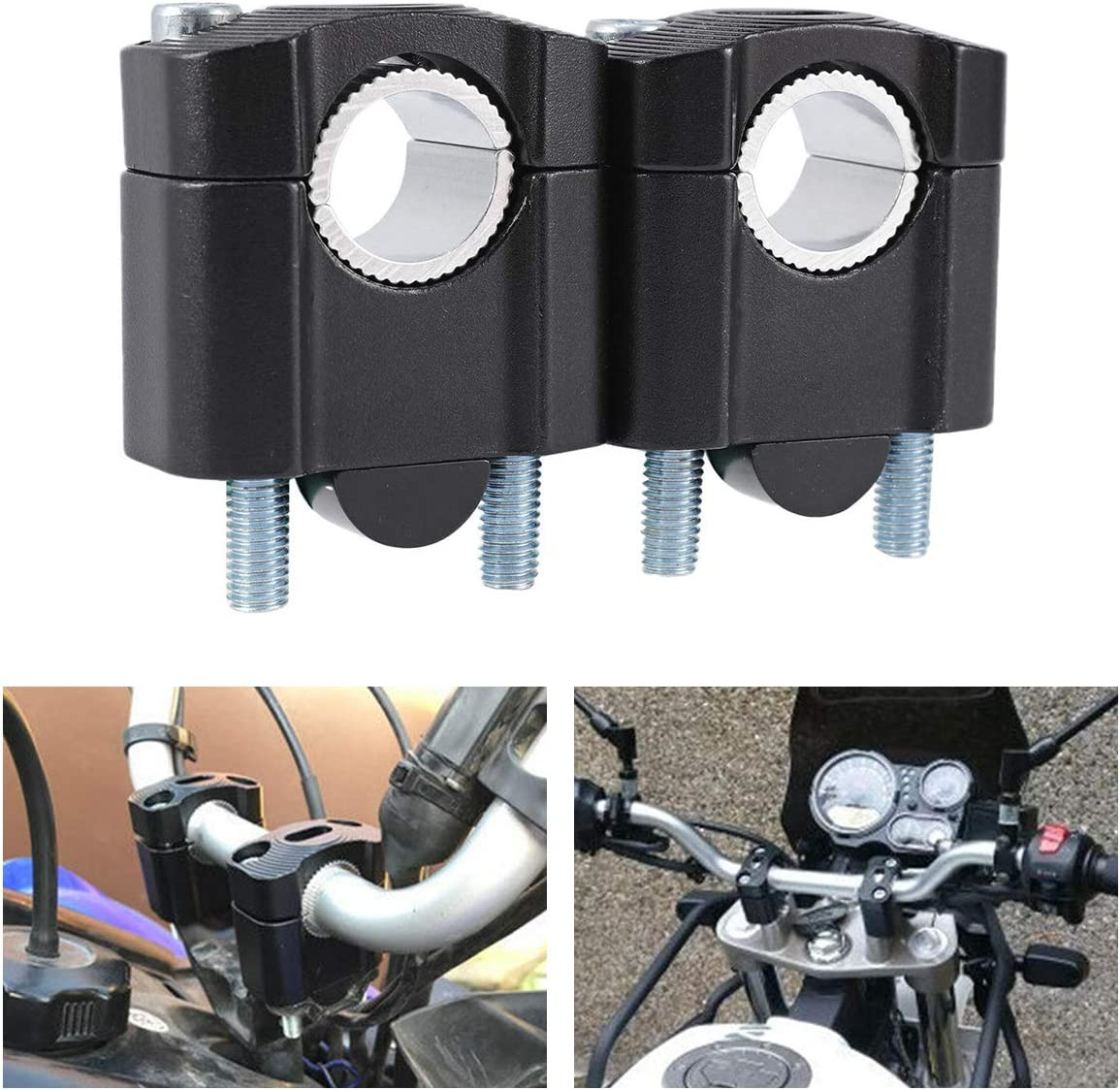 INNOGLOW Motorcycle Handlebar Cheap 2021 spring and summer new SALE Start Risers 1 8