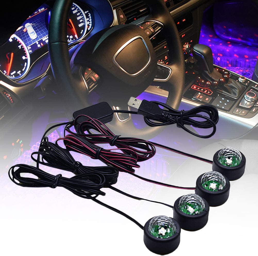 YESBAY LED Interior Car Lights 1 4 in Genuine Colorful RGB Japan Maker New