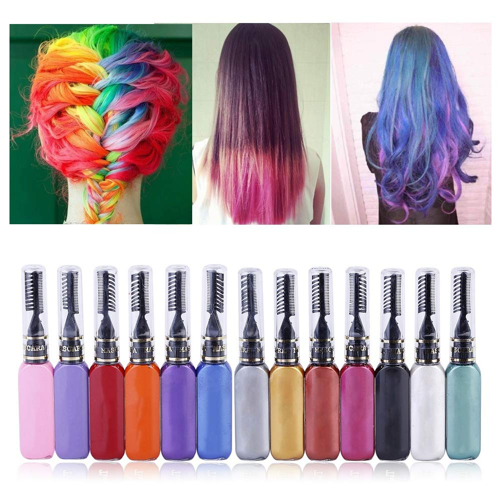 Spdoo Temporary Many popular brands Hair Color Chalk gift Dye Cre Colors 13 Instant