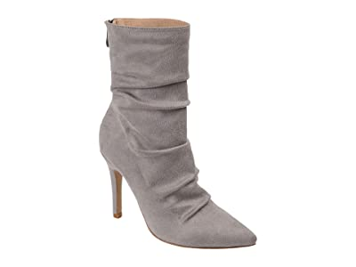 Journee Collection Markie Bootie (Grey) Women