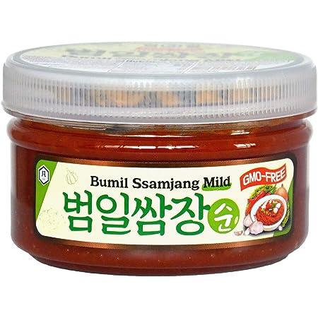 Taehwa Food Bumil Ssamjang Mild Paste, 8.81 Oz, Korean Dipping Sauce for BBQ Vegetables Lettuce Meat Bulgogi Wrapped Food & More, 태화 범일 쌈장순 250 g