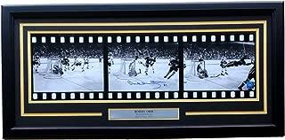 Bobby Orr Signed Framed Bruins The Flying Goal 3-Image Filmstrip 27x10 Photo GNR