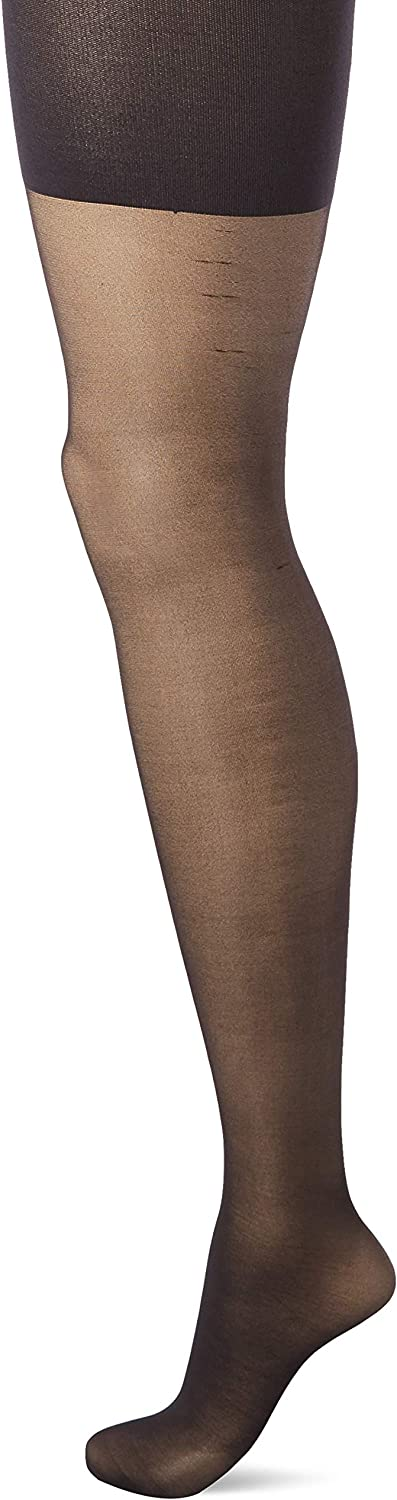 HUE womens Shaping Sheer Tights With Control Top