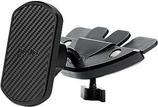 PITAKA Magnetic CD Slot Car Mount[CD Slot Magmount ]-Premium Luxury 360 Degree Rotation CD Slot Phone Holder for Smartphones