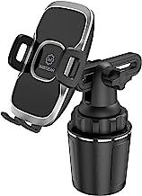 Cup Holder Phone Mount, WixGear Car Cup Holder Phone Mount Adjustable Automobile Cup Holder Smart Phone Cradle Car Mount