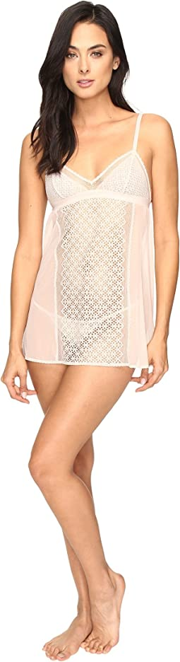 DKNY Intimates - Sheer Lace Chemise