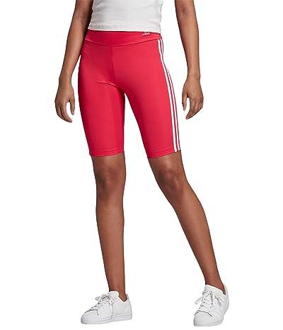 adidas Originals Cycling Shorts (Power Pink/White) Women