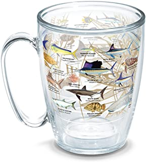 Tervis Guy Harvey - Charts Tumbler with Wrap, 16oz Mug, Clear