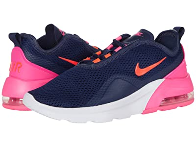 Nike Air Max Motion 2 (Midnight Navy/Flash Crimson/Pink Blast) Women
