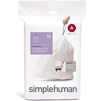 simplehuman コードA パーフェクトフィット ゴミ袋 4.5L / 30袋 CW0160
